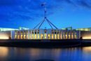 A photograph of an Australian government building